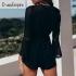 Jumpsuit Shorts Black