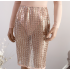 Bandage Top Bodysuit & Skirt
